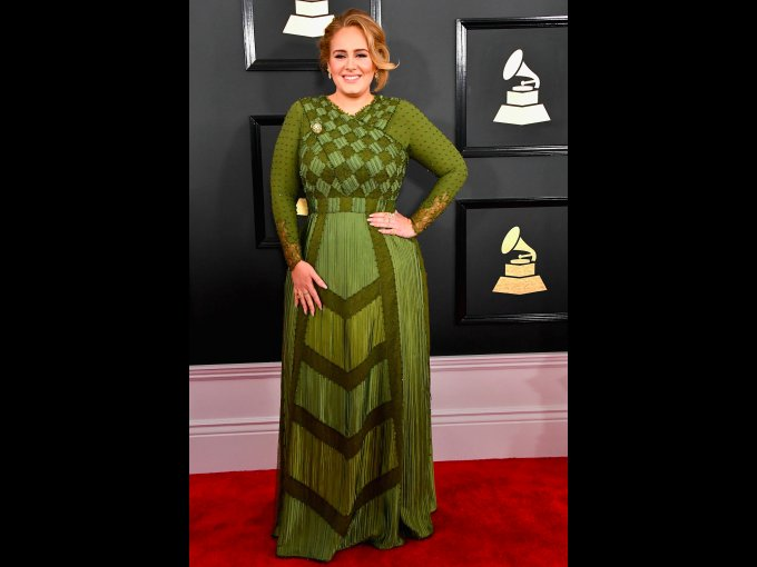 Adele en Givenchy