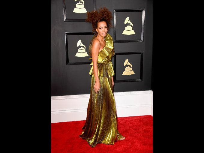 Solange Knowles en Gucci
