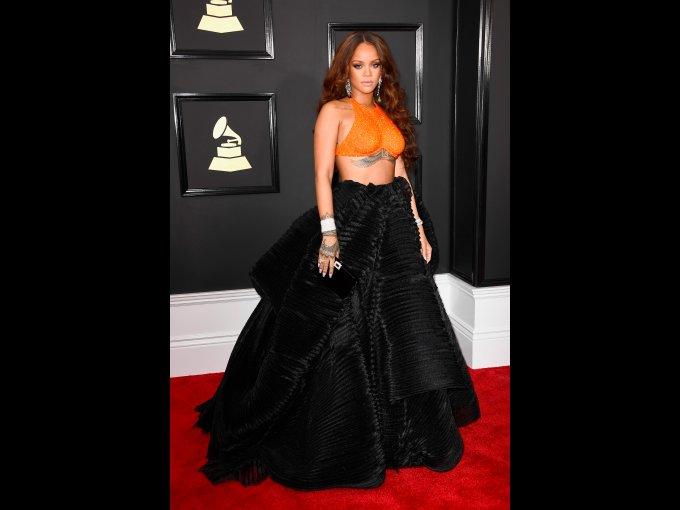 Rihanna en Armani Privé