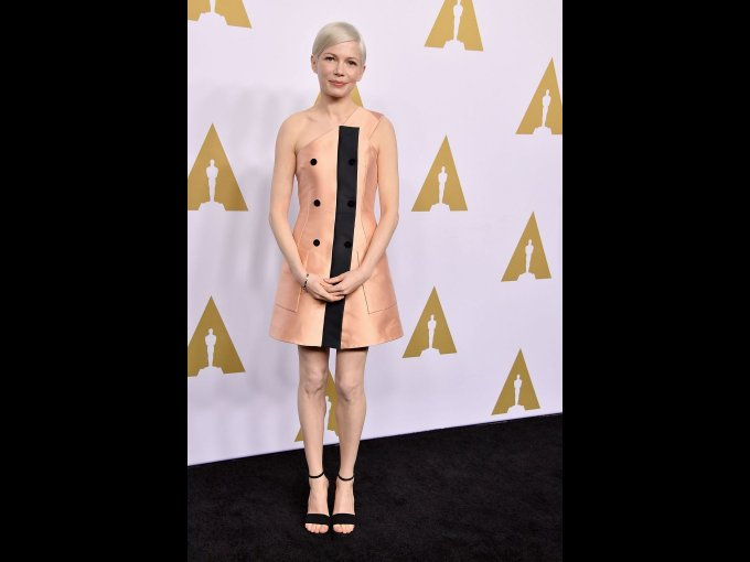 Michelle Williams en Louis Vuitton, Los Angeles