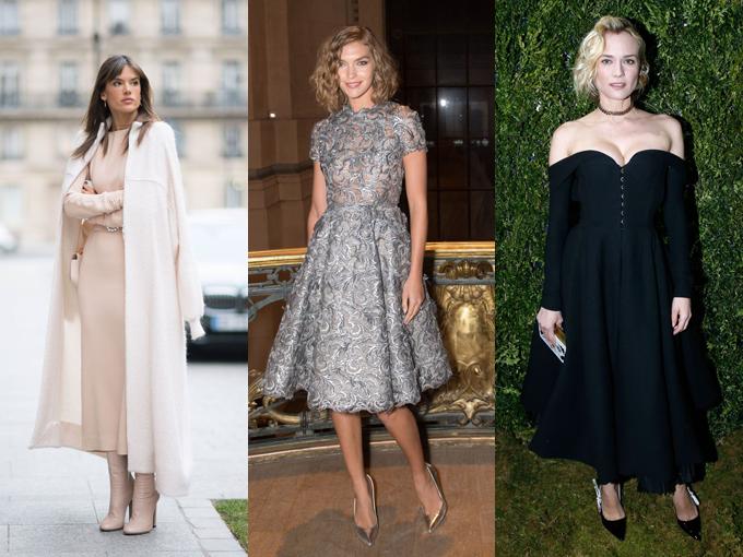 El primer gran evento de moda de este año, fue la excusa perfecta para las famosas lucieran los mejores looks de esta y la próxima temporada, en las calles de París.
