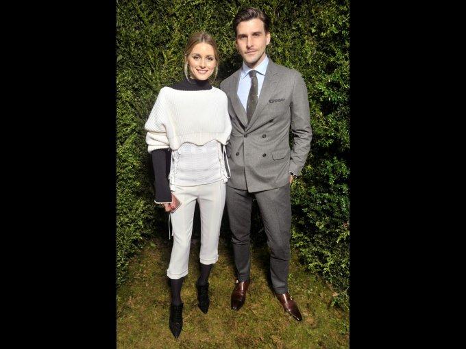 Olivia Palermo y Johannes Huebl en Dior