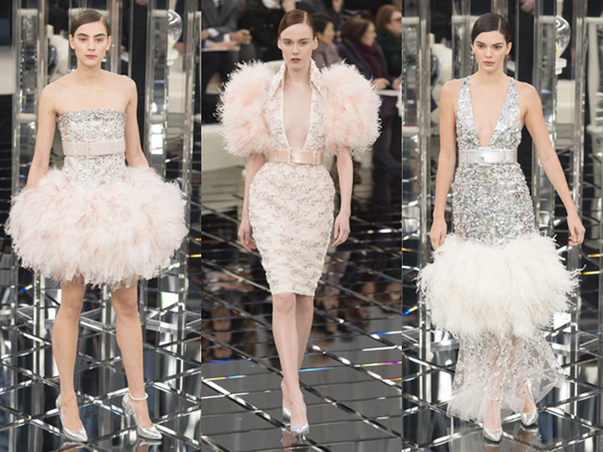 Los escenarios extraordinarios se han convertido en el sello distintivo de los desfiles de Chanel, y aunque el de la colección Couture para  primavera 2017 ha sido uno de los más sencillos de la firma, no nos defraudó en absoluto. Karl Lagerfeld trasladó el legendario atelier de la firma, en 31 Rue Cambon al Grand Palais, donde presentó una colección que rinde tributo a la moda de la última mitad del siglo XX, valiéndose de los íconos de la maison.