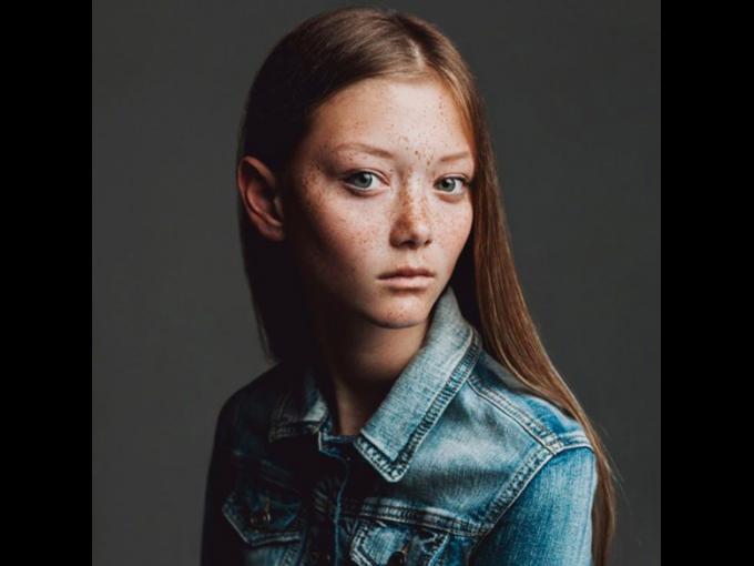Sara Grace Wallerstedt: De la agencia The Society ha debutado con Proenza Schouler y Prada. Tiene 17 años.