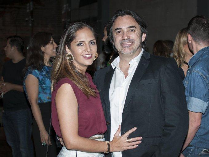 Ana Jasso con Eduardo García