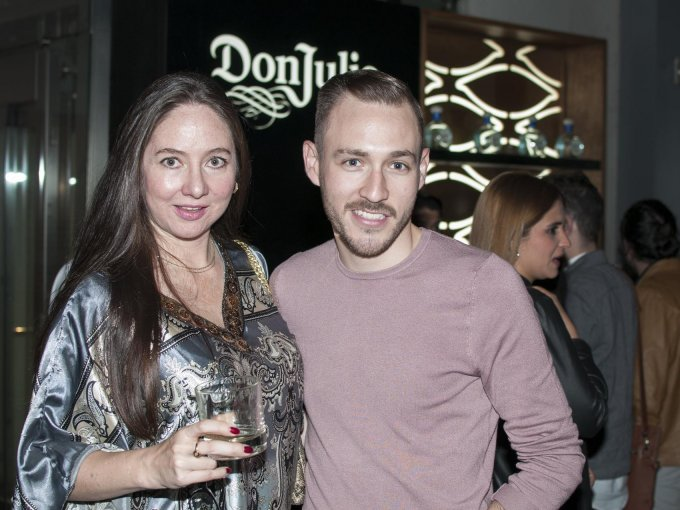 Belinda Lorenzana y Jorge Medina