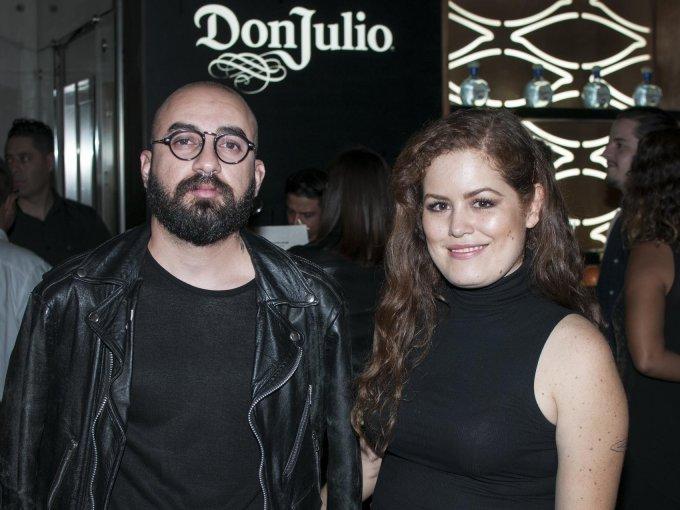 José María y Selene Rojas