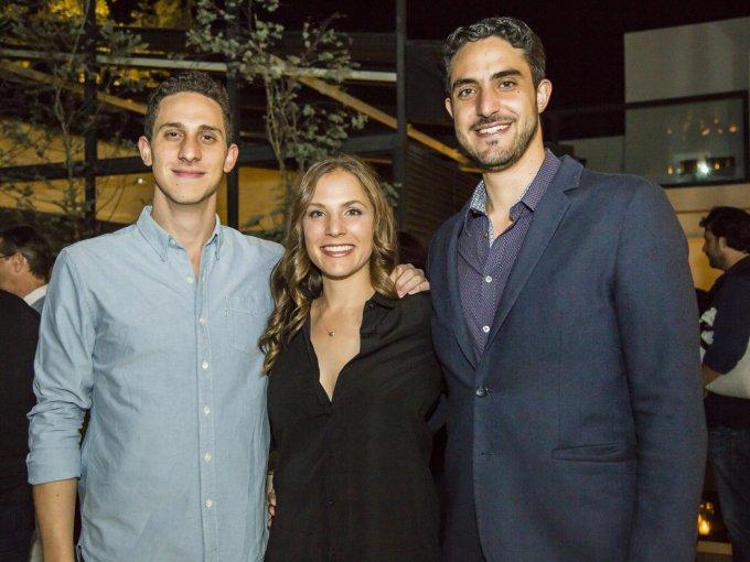 David Azar, Jacky Azar y Charly Azar