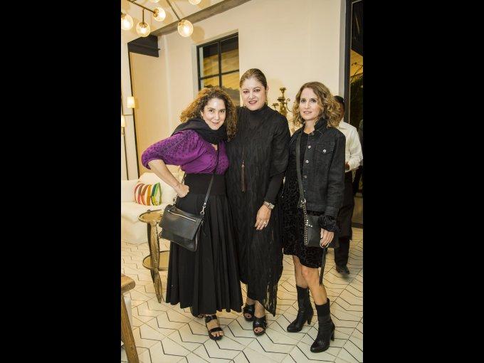 Verónica Martínez Lira, Marcela Aguilar y Guadalupe Mijares