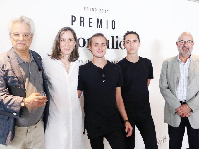 Alexander Díaz Anderson, Ana Paulina Gámez, Andreas Díaz y Felipe Covarrubias