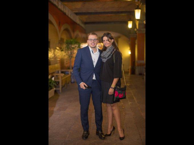 Luis Fernández y Maribel Quiroga