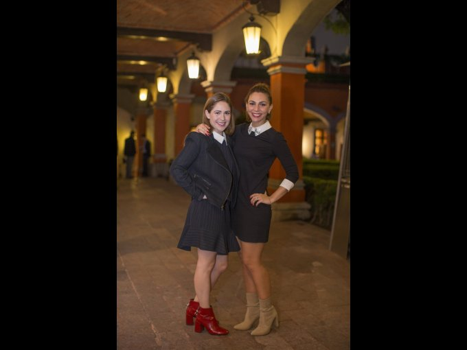 Tamara Alazraki y Vivian de Alazraki