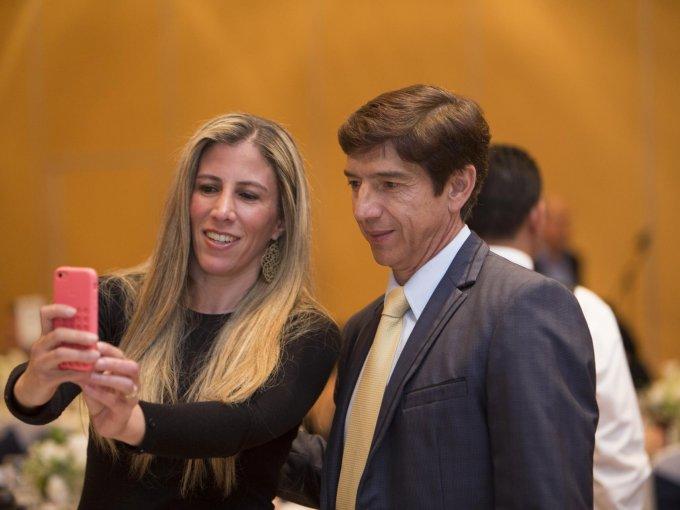 Vanessa López y Miguel España