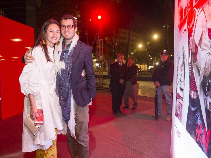 Brenda Díaz de la Vega y Rodrigo Peñafiel