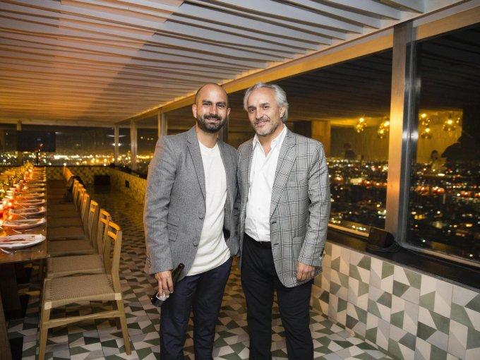 David Masa y Nicolás Vale
