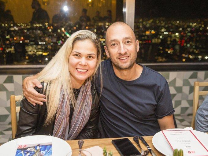 Mariana Marroquín y Fernando Marroquín