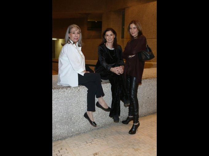 Rosa María de la Rue, Gabriela González y Ana Sánchez