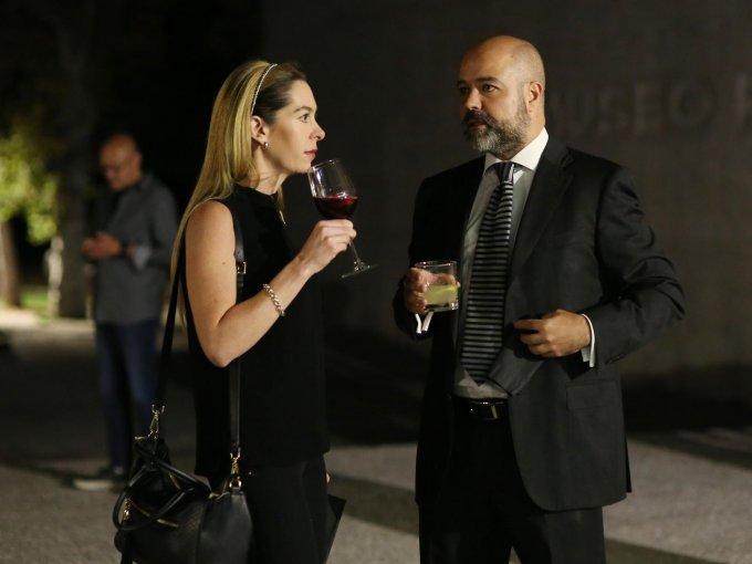 Jessica Volin y Juan Antonio Pérez Simón