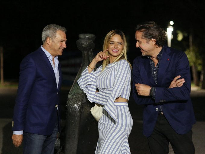 Moisés Zaga, Karen Rumbos y Ricardo Reyes