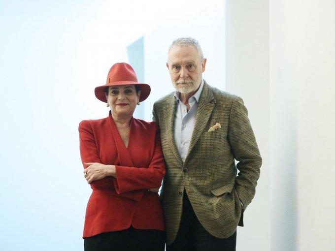 Patricia Conde y José Antonio Martínez