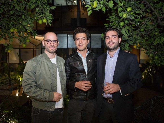 Daniel Mizrahi, Emmanuel Prieto y Pablo Gálvez