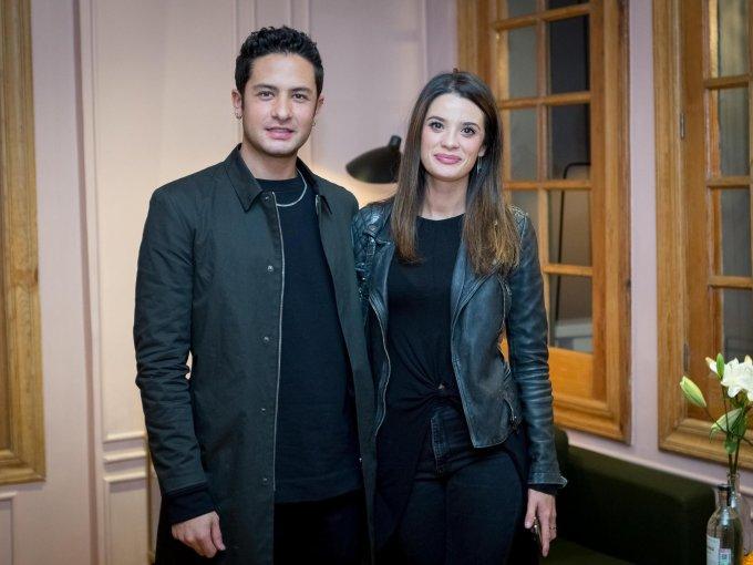 Manolo Penagos y Daniela Siller