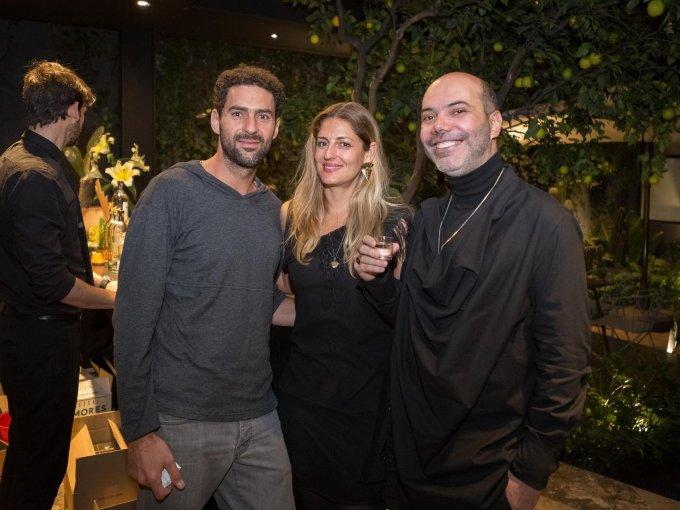 Alejandro Torres, Déborah Vértiz y Andrés Méndez