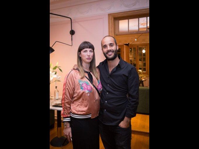Luisa Conesa y Santiago Suárez