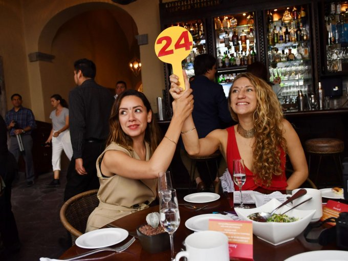 Brenda Gallardo y Angela Lewis Serrano