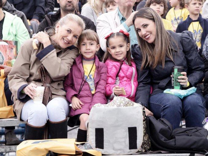 Gaby Tessmann, Valentina Berthely, Anna Corral y Michelle Parlange