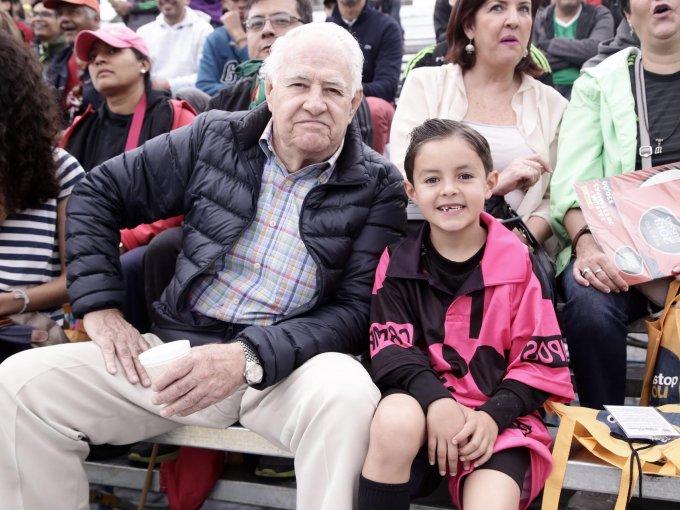 Emilio Oyarzabal y Mateo Hutt