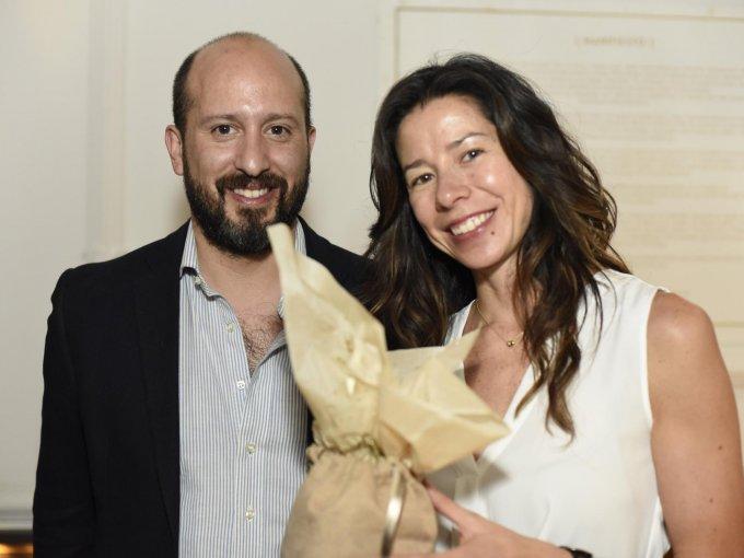 Carlos Escobedo y María José Montiaga