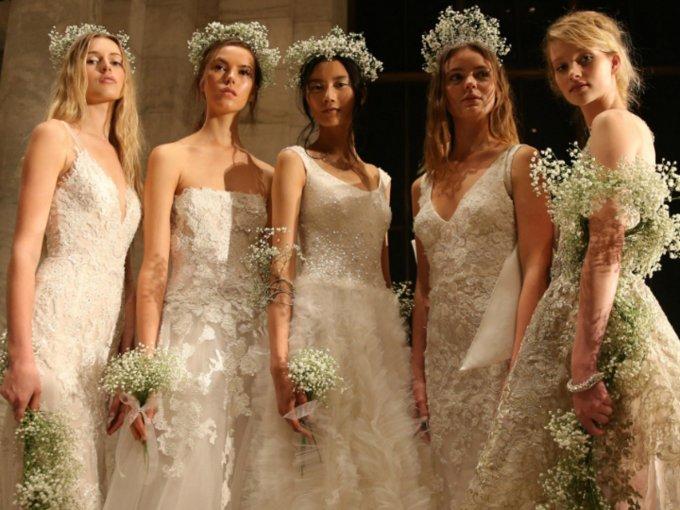 Desde algo clásico hasta lo poco convencional. Estos vestidos de firmas como: Reem Acra, Elie Saab, Carolina Herrera o Tadashi Shoji son un verdadero sueño hecho realidad. Cada modelo, en esencia, es una pieza única.
