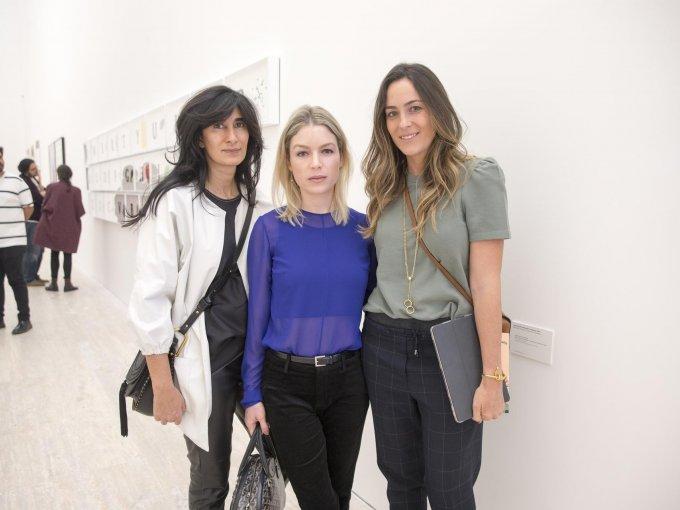 Abaseh Mirvali, Micaela de Bernardi y Ana Ferro