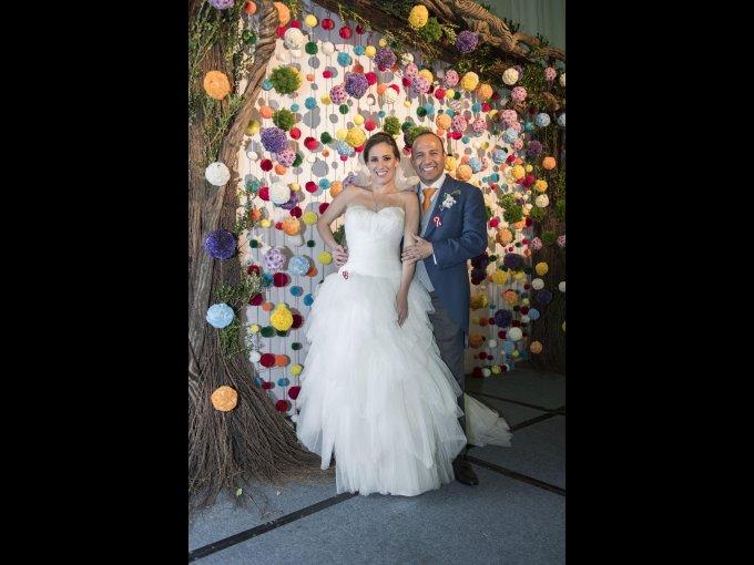 Yvonne Garza y Percy Mourao
