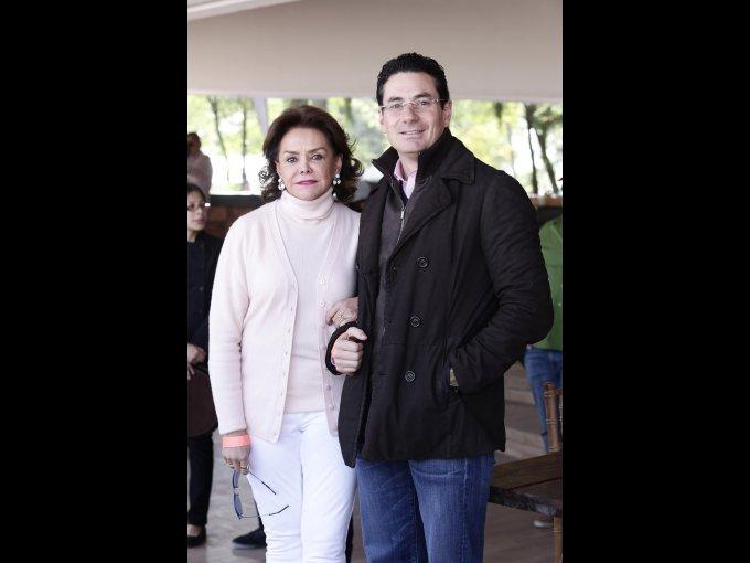 Adriana Salinas y Juan José Salinas