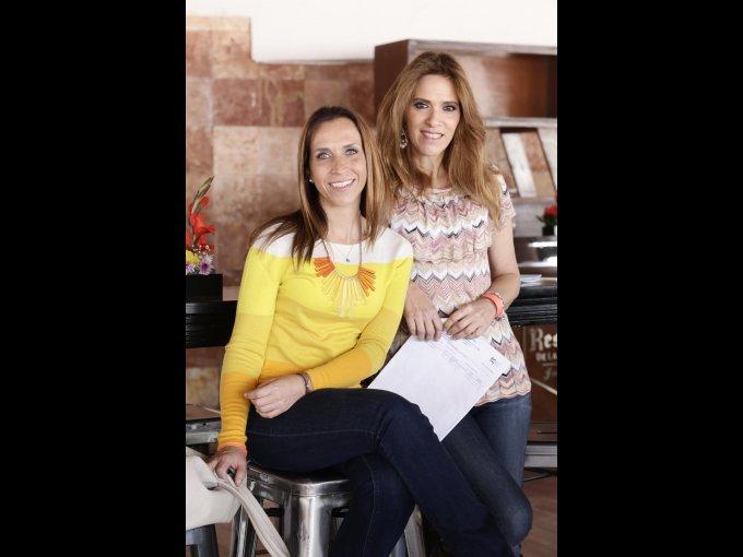 Carla Milanesi y Andrea Weber