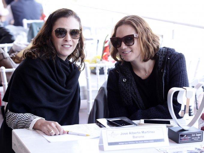 Maricarmen Albañez y María José Álvarez del Castillo