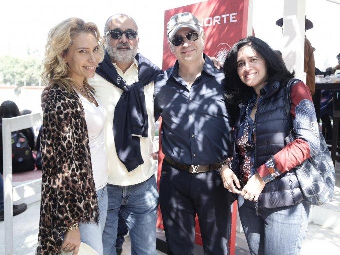 Jimena Gállego, José Anaya, Antonio Collado y Terry Genis