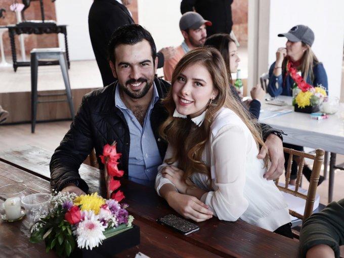 Pepe Celis y Sara Martínez