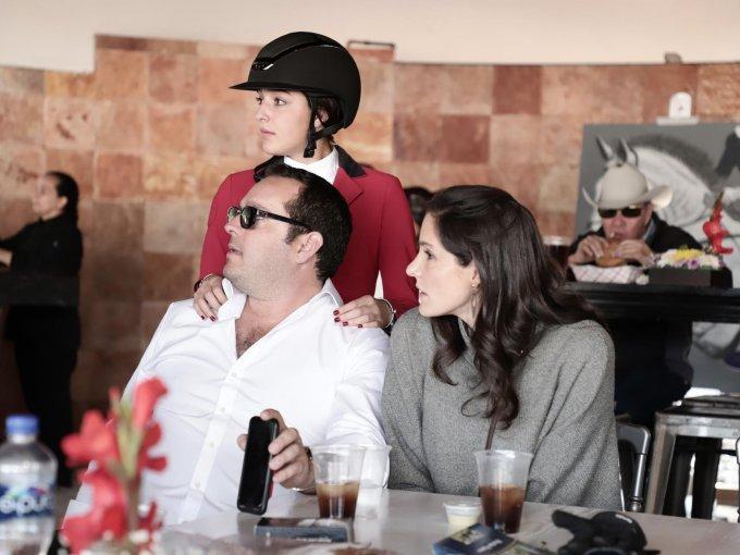 Ricardo González, Luciana González y Guadalupe González