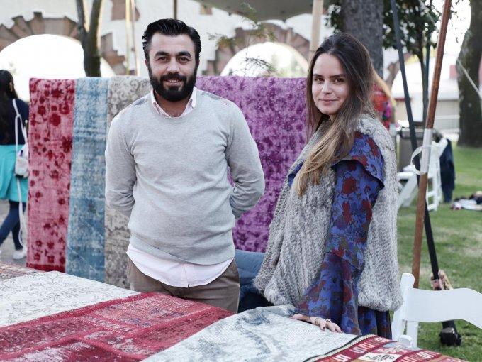 Ziya Kilinc y Gricelia Llorente