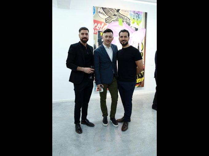 Robert Moore, Carlos Escobar y Jesús Alberto Flores