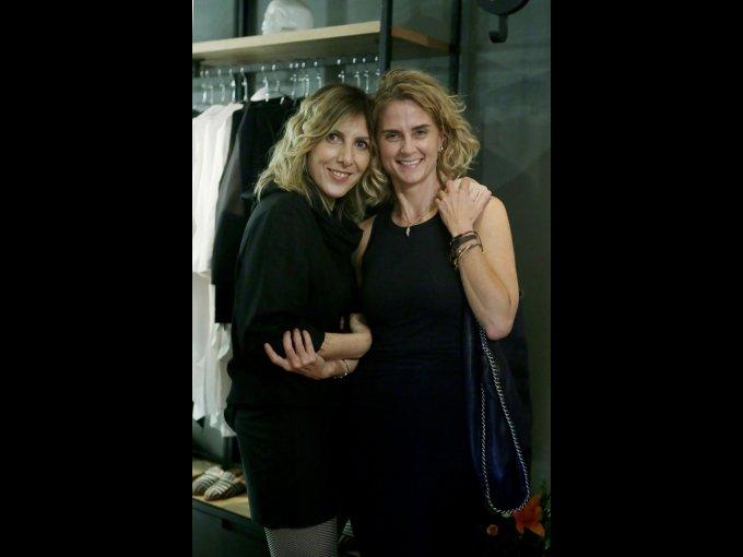 Carla Weinberg y Viviana Alcocer
