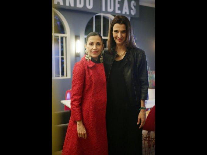 Lucy Lara y Aline Bortoloti