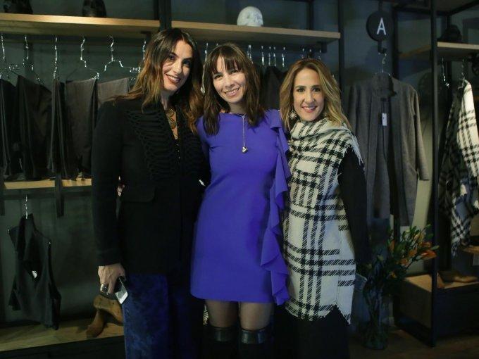 Ilana Rajlevsky, Nicole Aloi y Dalia Rajlevsky