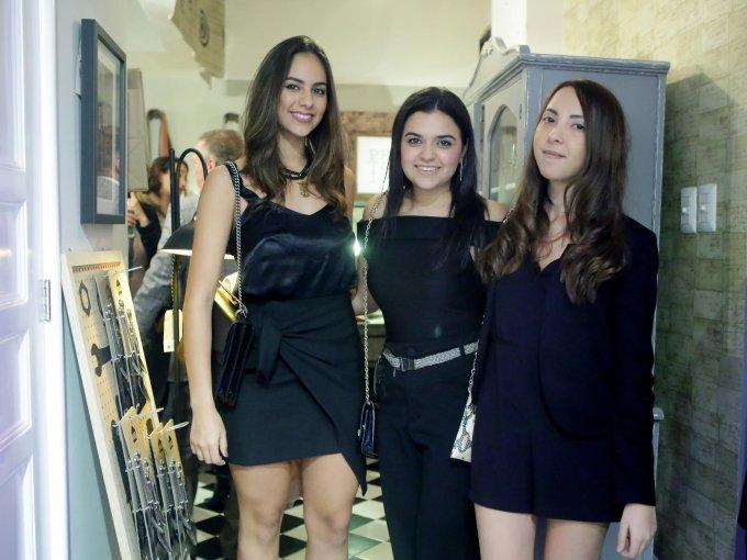 Mariana Gutiérrez, Diana Palazuelos y Cynthia Castelo