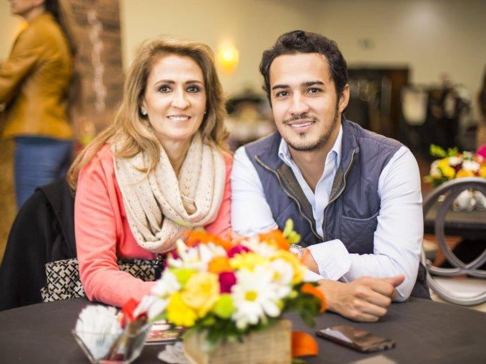 Aida Macías y Eduardo Doblado