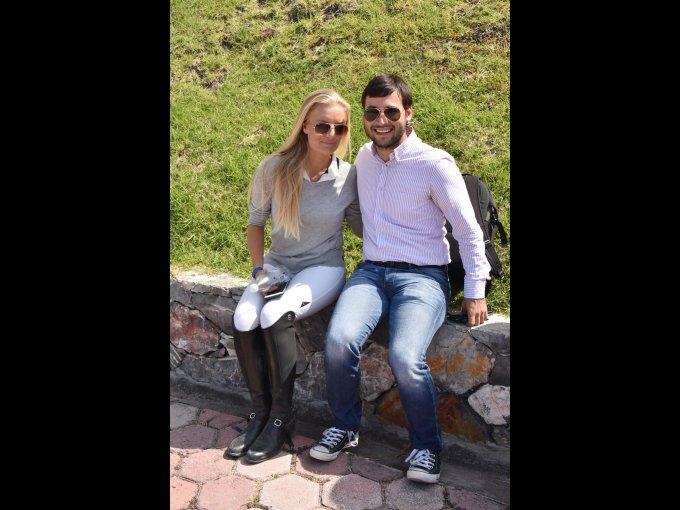 Sara Rodríguez e Iván Arcilla