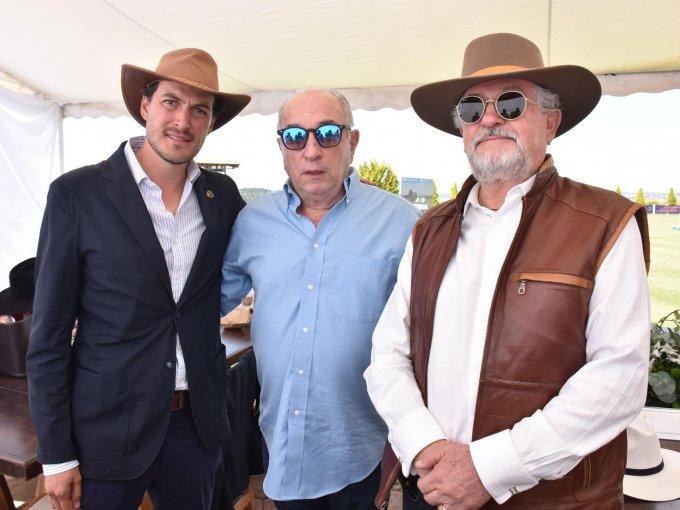 Carlos Haghenbeck Jr, Juan Manuel Cossio y Carlos Haghenbeck